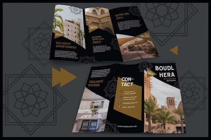 Modern Arabic Style House - Brochure