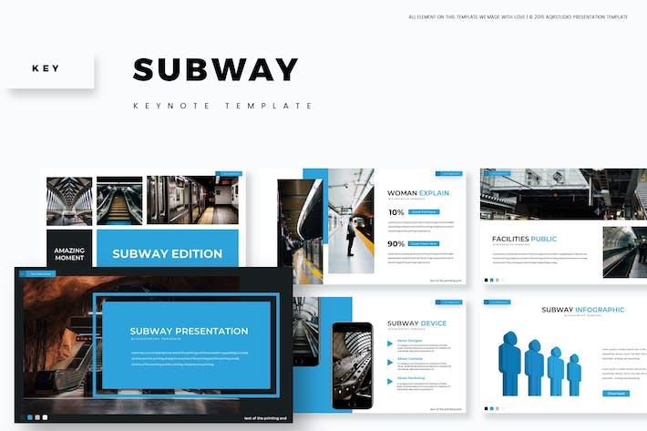 Thumbnail for Subway - Keynote Template