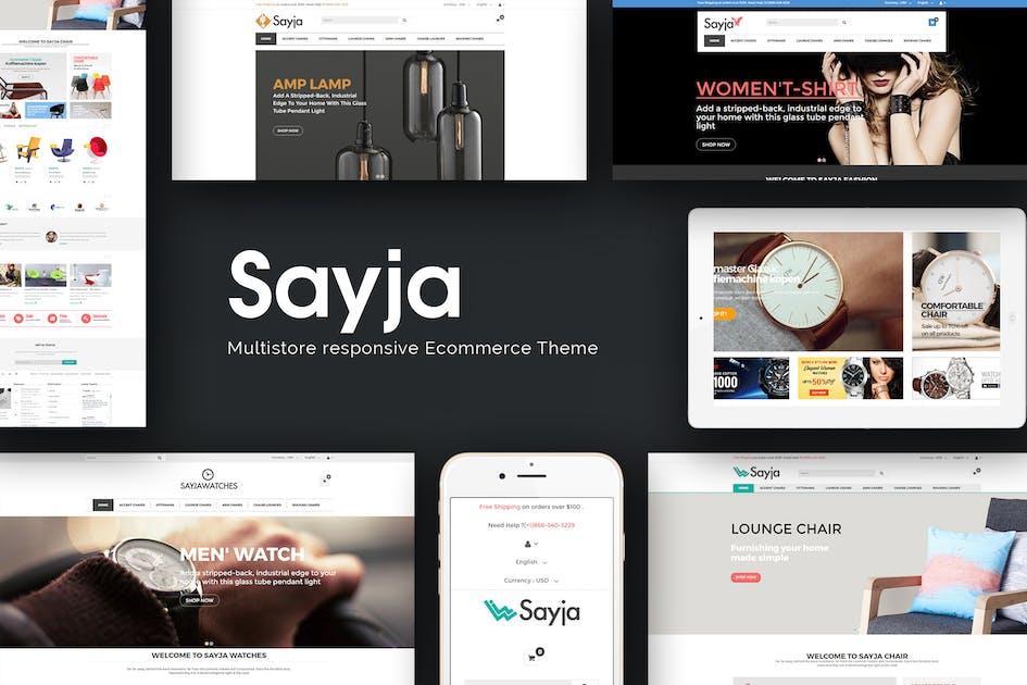 Download Sayja - Multipurpose Responsive Prestashop Theme by posthemes