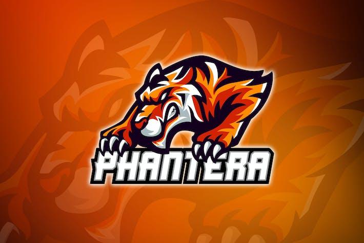 Thumbnail for Tiger Team No.4 Phantera - Esport Logo
