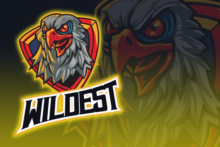 Thumbnail for Bald Eagle Esport Logo