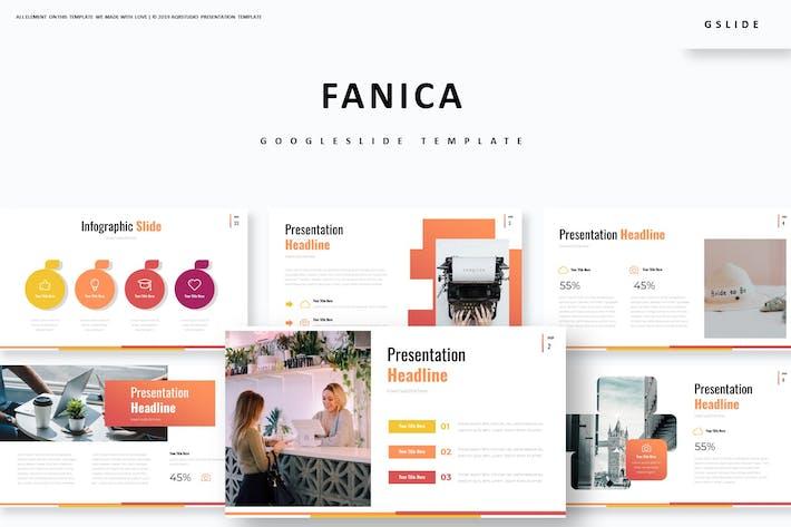 Cover Image For Fanica - Google Slide Template