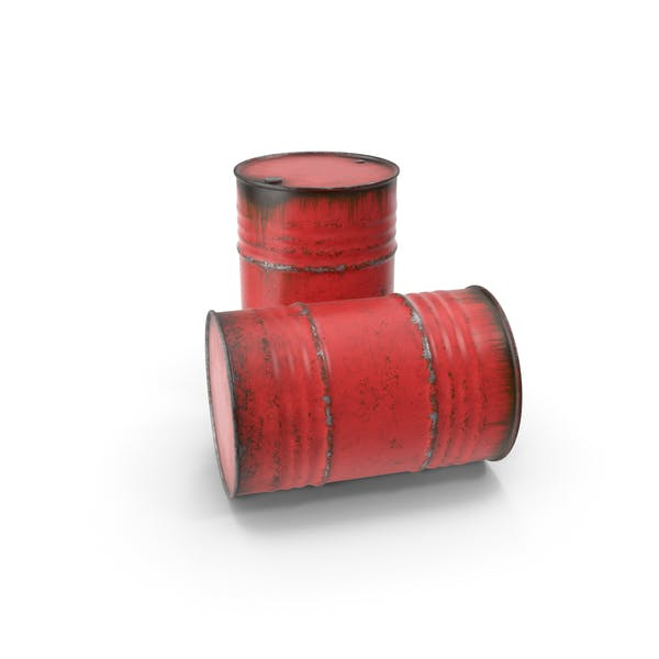Cover Image for Steel Barrels Red