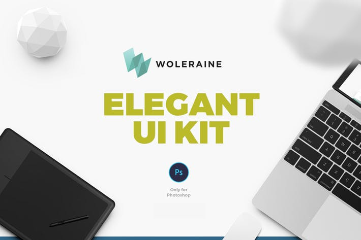 Thumbnail for Woleraine UI Kit