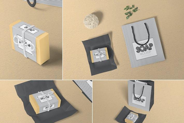 Thumbnail for Craft Soap Box Mockups
