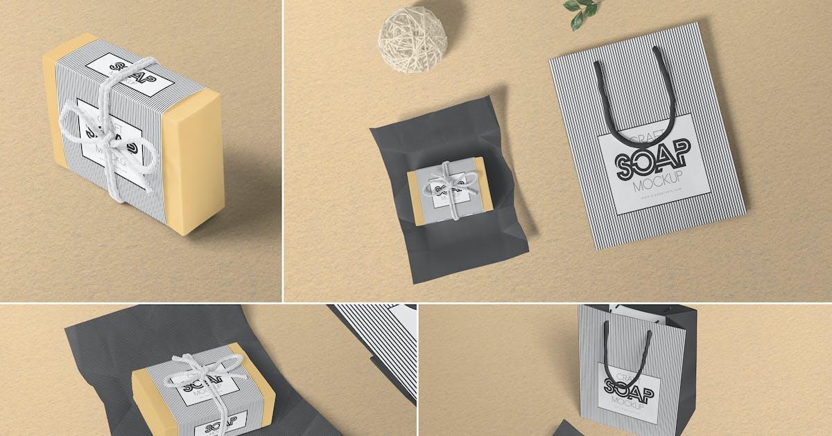 Download Craft Soap Box Mockups by zippypixels