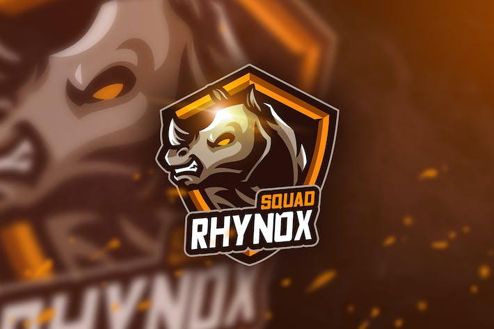 Thumbnail for Rhynox Squad - Mascot & Esport Logo