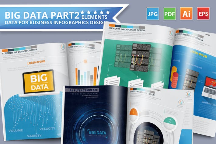 Cover Image For Big Data Infographics Design