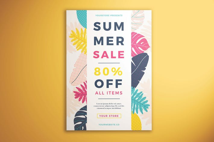 Thumbnail for Summer Sale Flyer Vol. 01