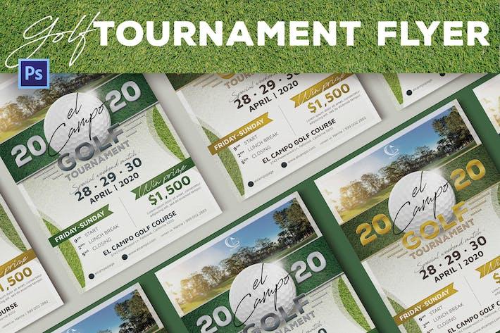 Thumbnail for Golf Tournament Flyer