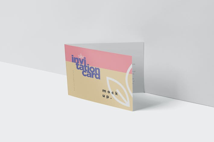 Thumbnail for Invitation Card Mock-Up Set