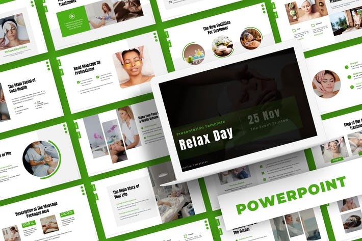 День отдыха - Шаблон Powerpoint