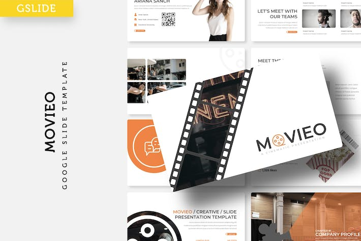 Movieo - Google Slide Template