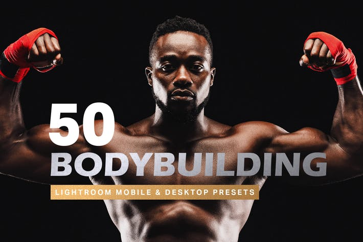 Thumbnail for 50 Bodybuilding Lightroom Presets