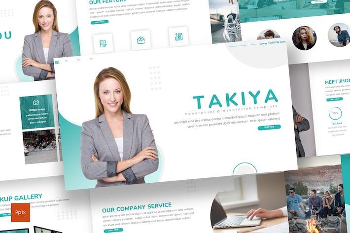 Thumbnail for Takiya - Business Powerpoint Template