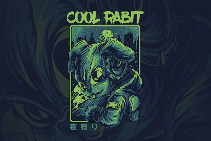 Thumbnail for Cool Rabbit Ver 2