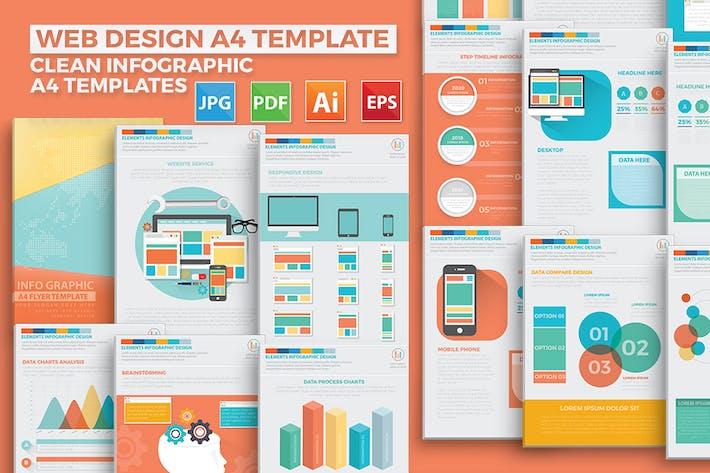 Thumbnail for Web Design Infographic Elements Design