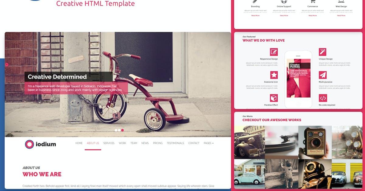 Download Iodium- Onepage Personal/Portofolio HTML Template by rudhisasmito
