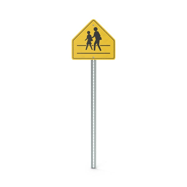 Thumbnail for School Crossing Sign