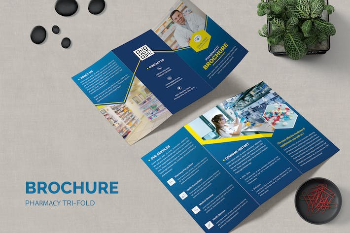 Pharmacy Trifold Brochure