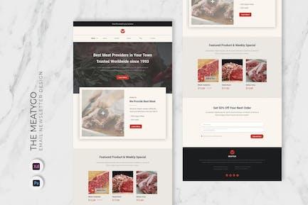Meatygo Email Newsletter