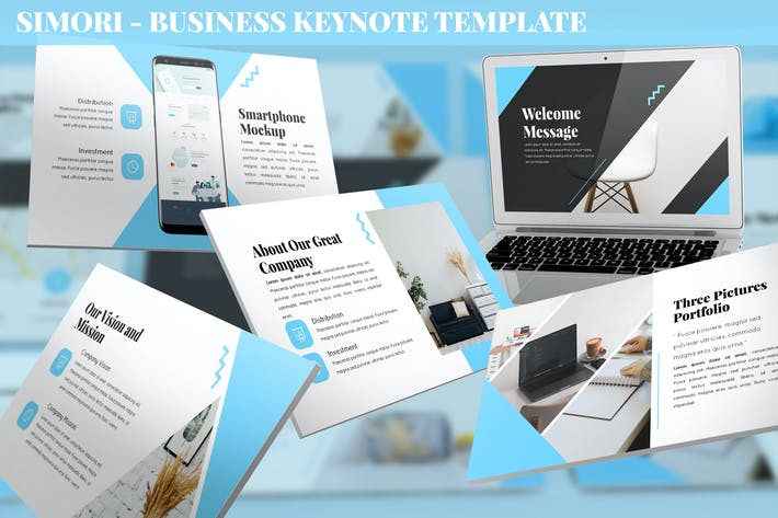 Thumbnail for Simori - Business Keynote Template