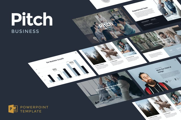 Business Pitch Powerpoint Template By Slidehack On Envato Elements