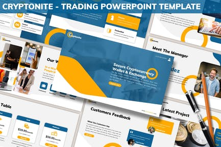 Cryptonite - Trading Powerpoint Template