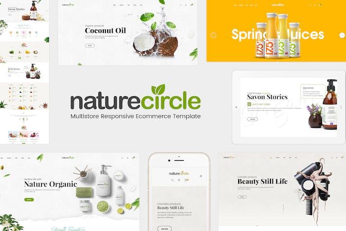 Thumbnail for NatureCircle - Organic Responsive OpenCart Theme