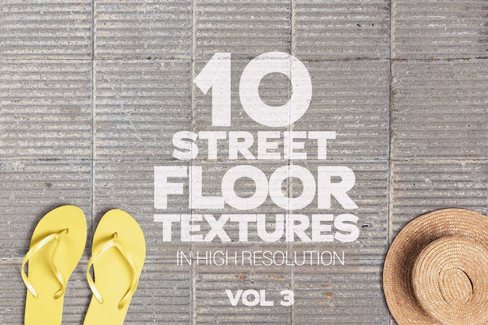 Thumbnail for Street Floor Textures x10 Vol.3