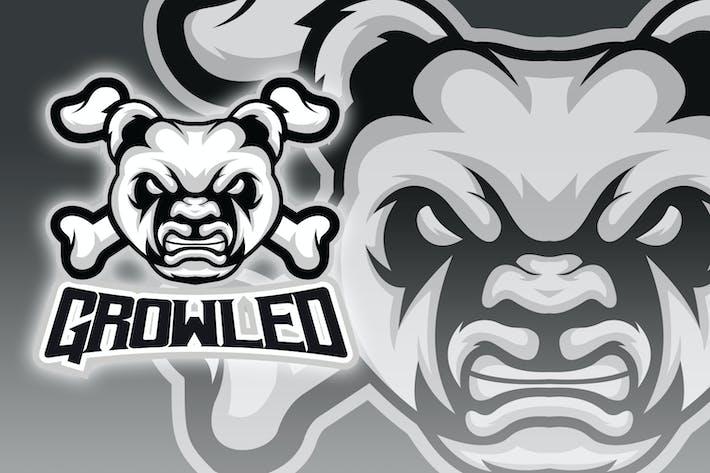 Thumbnail for Panda - Bones Cross Esport Logo