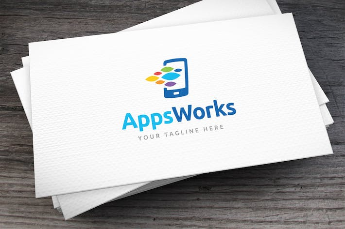 Thumbnail for Apps Workshop Logo Template