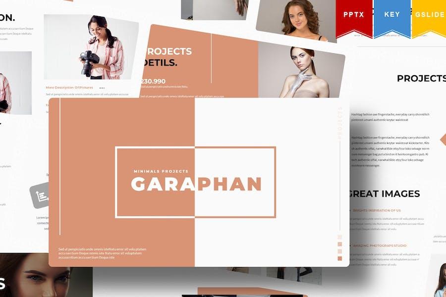 Garaphan | Powerpoint, Keynote, GoogleSlide