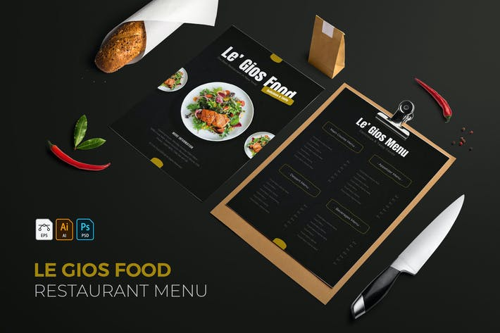Le Gios Food | Restaurant Menu