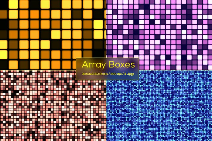 Thumbnail for Array Boxes Backgrounds