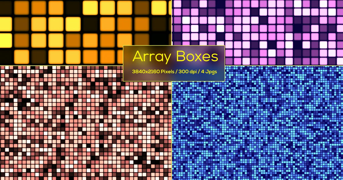 Download Array Boxes Backgrounds by StrokeVorkz