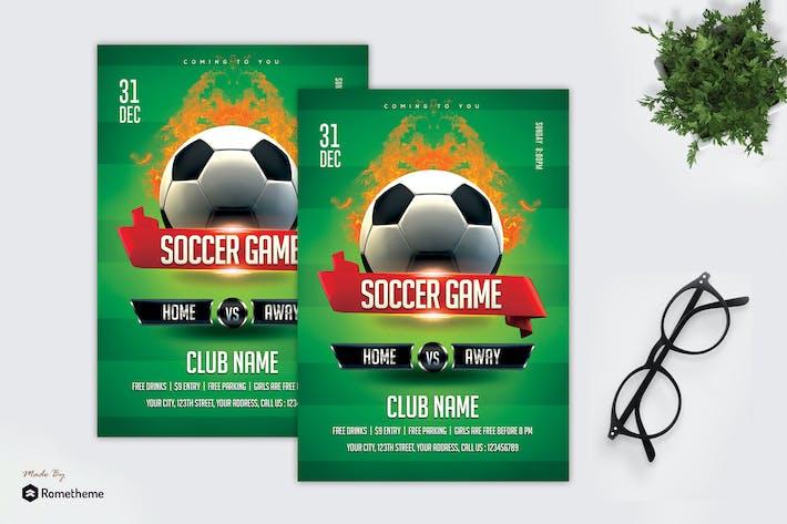 Thumbnail for Soccer Game - Sport Flyer MR