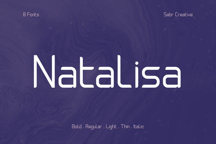 Natalisa Font Family