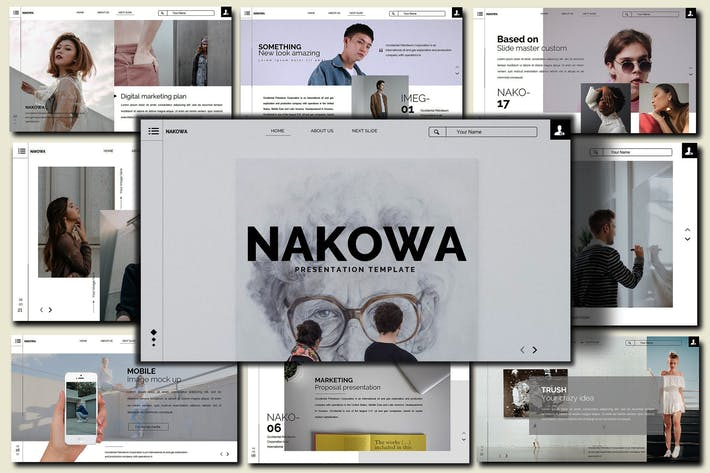 Thumbnail for Nakowa Minimal - Powerpoint