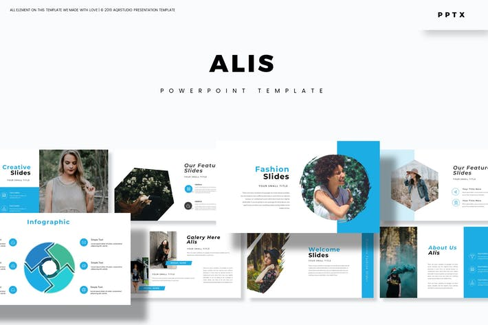 Alis - Powerpoint Template by aqrstudio on Envato Elements