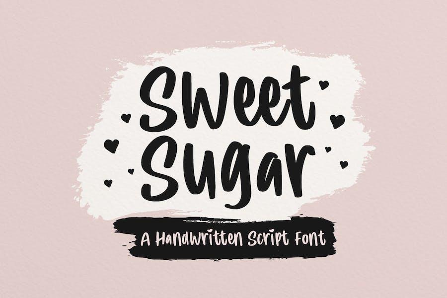 Sweet Sugar - Cute Font