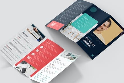 Brochure – Resume Tri-Fold
