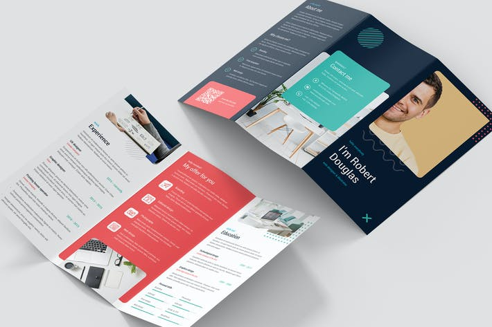 Thumbnail for Brochure – Resume Tri-Fold