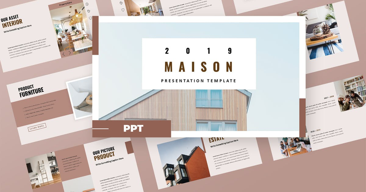 Download Maison - Property Agency Powerpoint Presentation by TMint