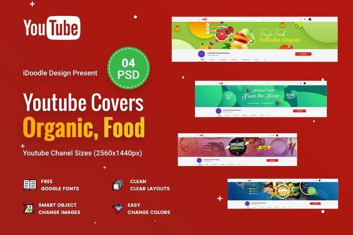 Thumbnail for Organic & Fresh Food Youtube Chanel