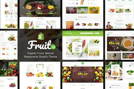 Fruit Shop - Organic Food, Natural Shopify Theme