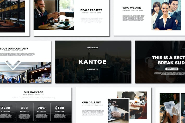 Thumbnail for Kantoe - Keynote Templates