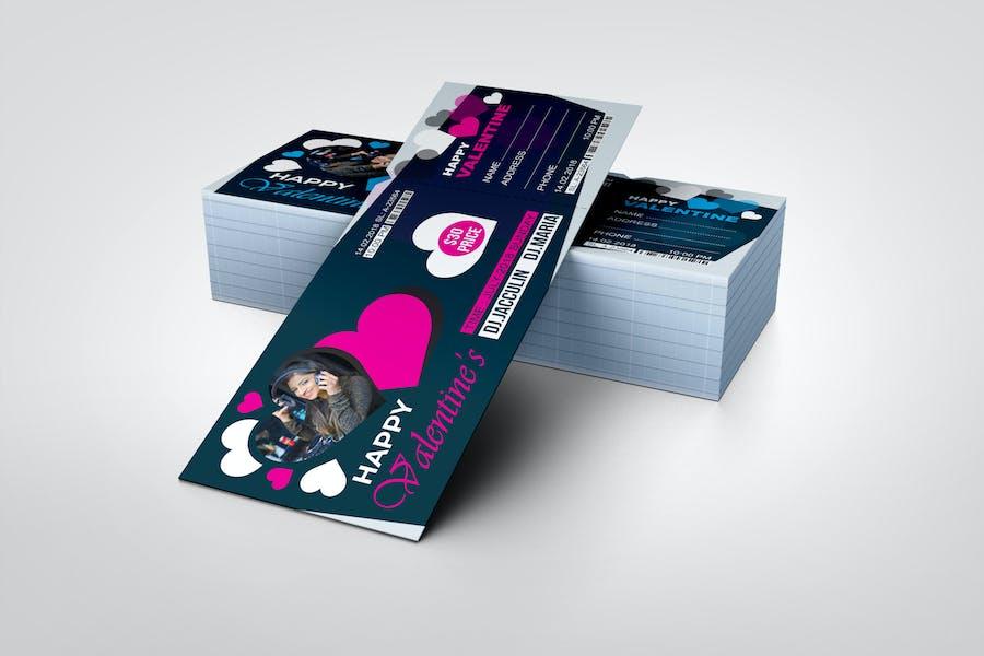 Event Ticket - Happy Valentine