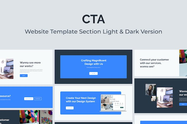 Web Call to Action Template