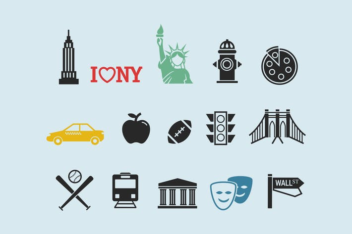 Thumbnail for 15 New York City Icons